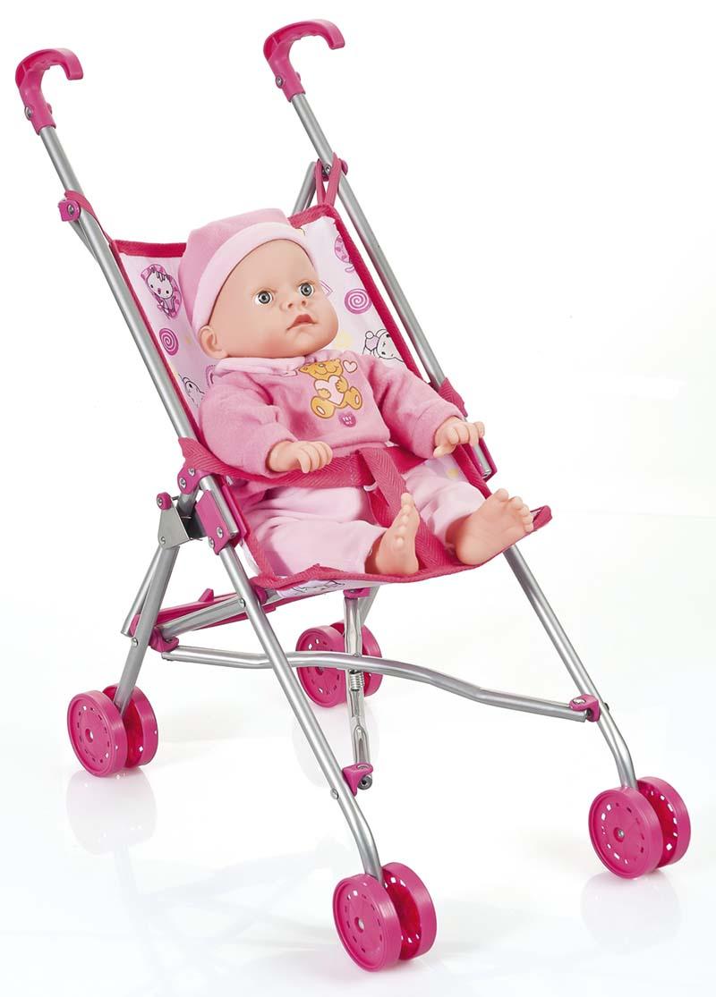 Dukke Paraply Klapvogn - Indeleg - Kvalitets legetøj fra Maxileg