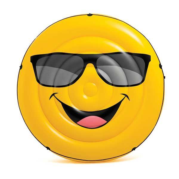 Billede af Kæmpe Luftmadras - Smiley