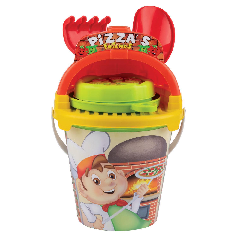 Billede af Pizza Sandsæt - Perfekt til udendørs leg