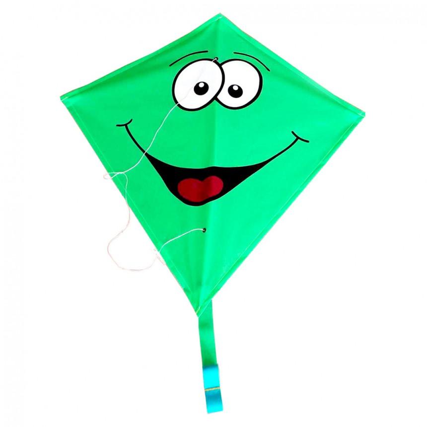 Billede af Rhombus diamant drage - Grøn