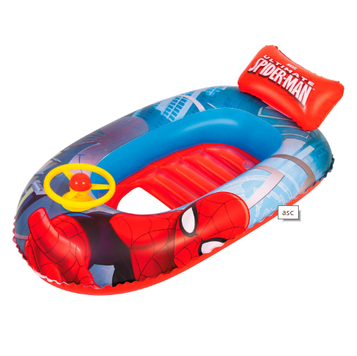 Image of   Bestway Oppustelig Børne Speedbåd - Spiderman