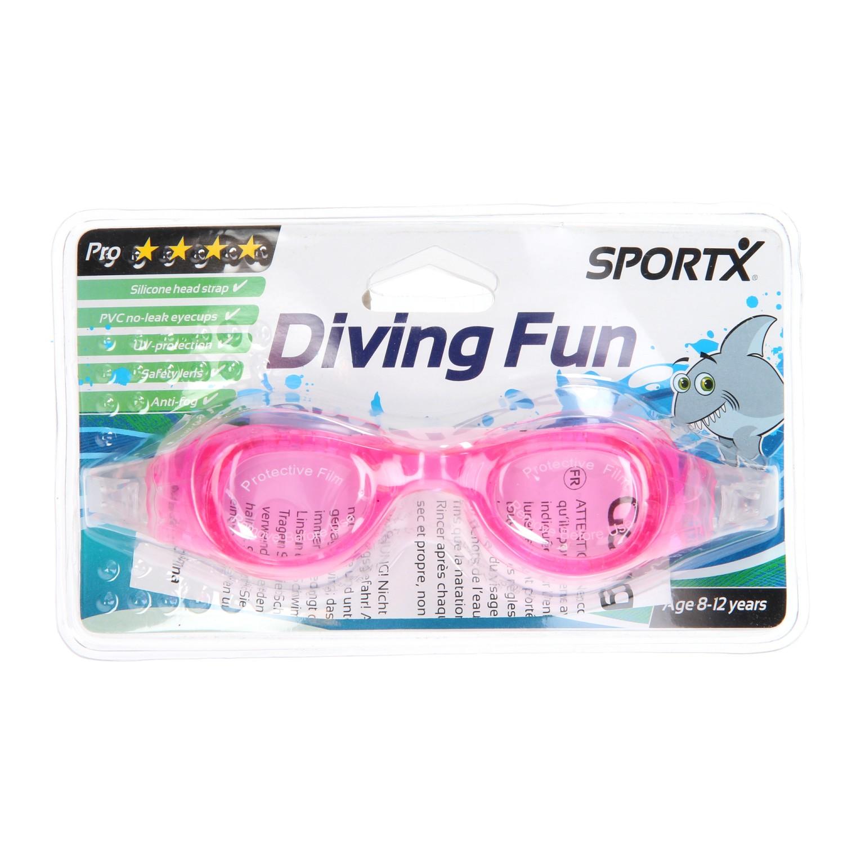 Image of   SportX Pro Svømmebriller i Pink - 8 til 12 år