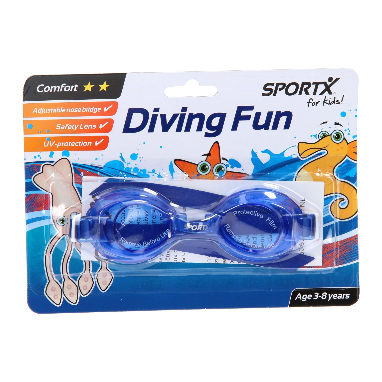 Billede af SportX Svømmebriller i Blå - 3 til 8 år
