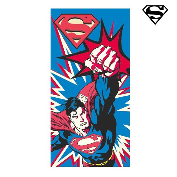 Image of   Supermand strandhåndklæde