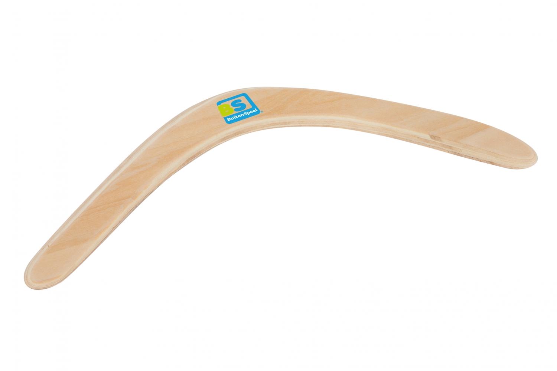 Image of   Boomerang i træ fra BS - Sjovt udelegetøj