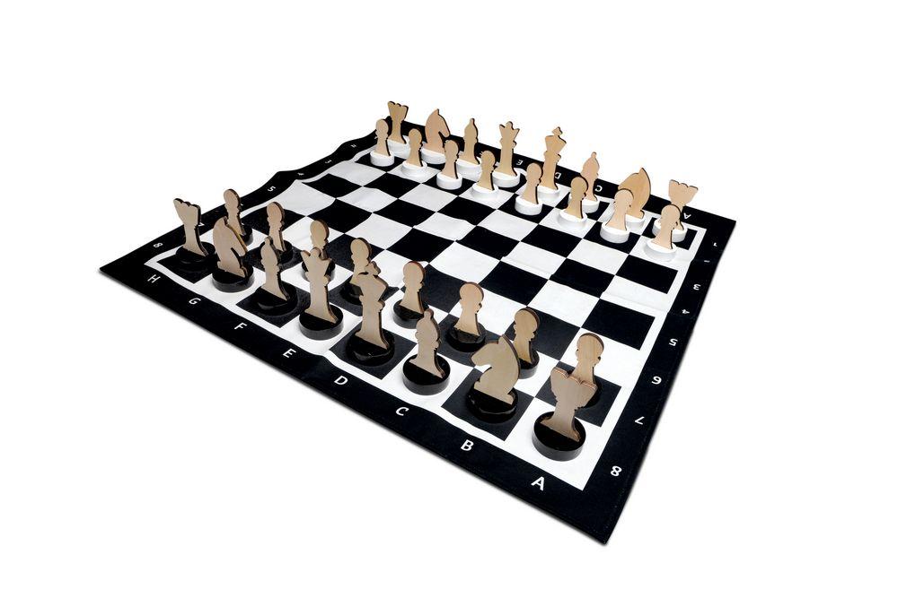 Image of   Kæmpe udendørs skakspil - BS